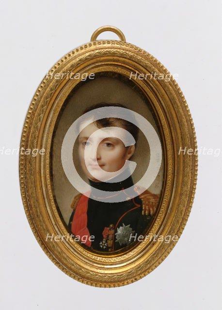 Napoléon I (1769-1821), 1810. Creator: Jean-Baptiste Isabey.