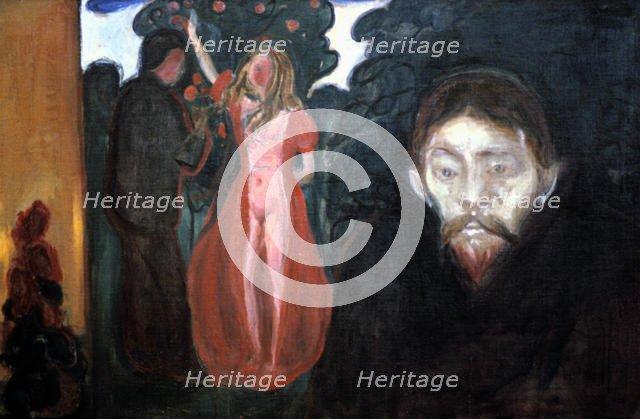 'Jealousy', 1895. Artist: Edvard Munch