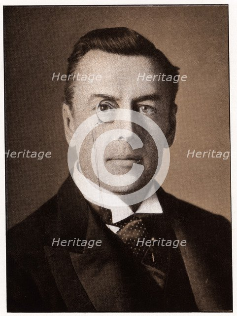 Joseph Chamberlain, British politician, c1900. Artist: Anon