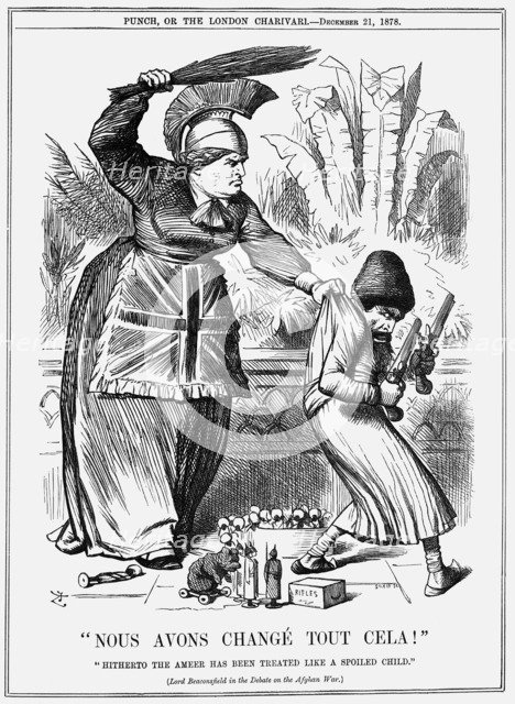 Nous avons changé tout cela!, 1878. Artist: Joseph Swain