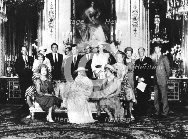 Prince William's Christening, Buckingham Palace, 4th August, 1982. Artist: Unknown