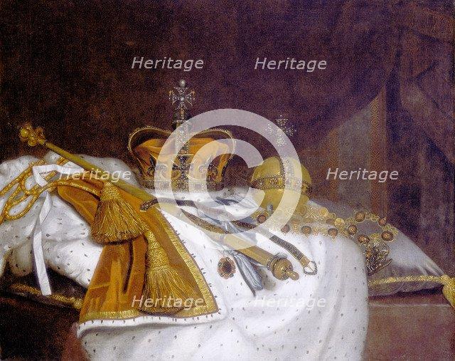 'Regalia of Charles II', 1670s. Artist: Unknown