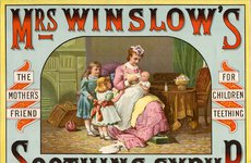 Thumbnail image of Mrs Winslow's Soothing Syrup, 19th century. Artist: Unknown