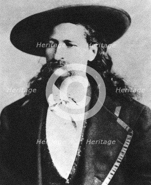Wild Bill Hickock, American scout and lawman, 1873 (1954). Artist: Unknown