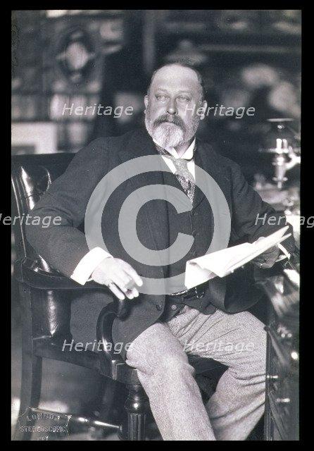 King Edward VII, c1902-1905. Artist: W&D Downey