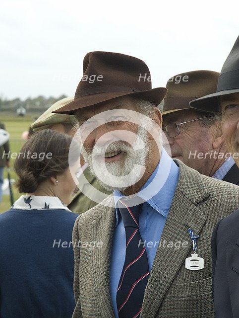 2011 Goodwood Revival Meeting, Prince Michael of Kent enjoys the attractions Artist: Unknown.