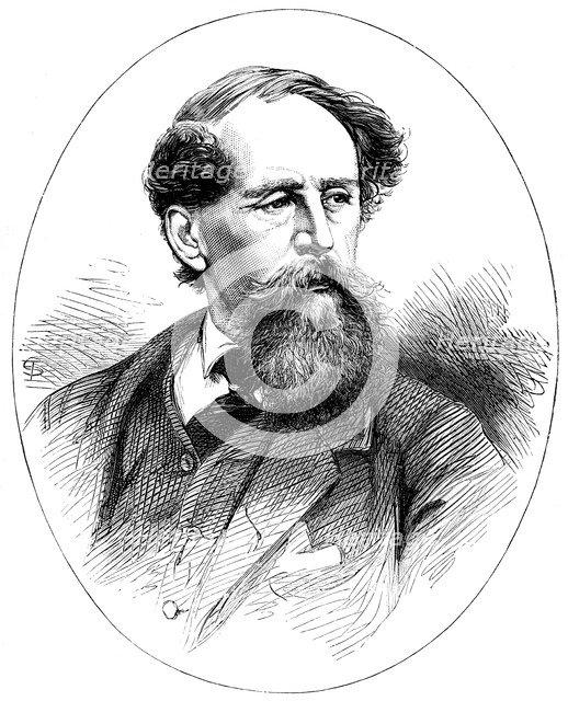Charles Dickens, 19th century English novelist. Artist: Unknown