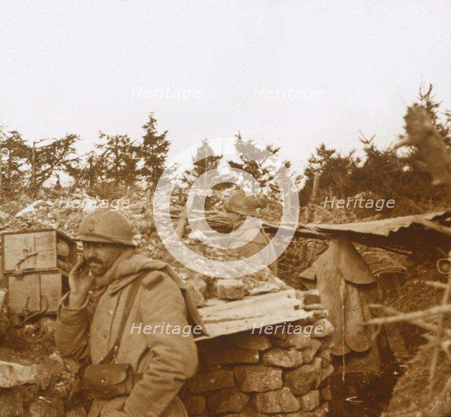 Front line, Verdun, northern France, 1916. Artist: Unknown.