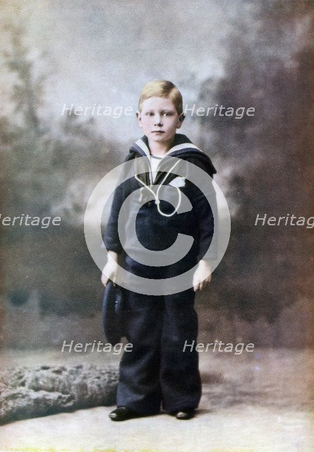 The Duke of York, aged six, 1901-1902 (1923). Artist: Unknown