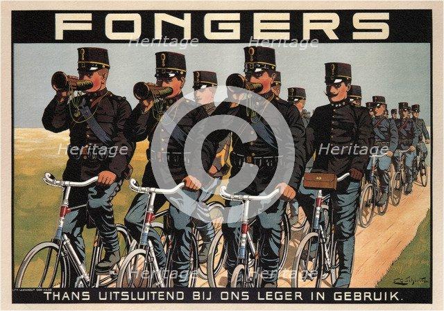 Fongers Cycles, 1915. Artist: Schlette, F. G. (active 1900s-1910s)