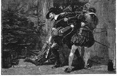 Thumbnail image of Arrest of Guy Fawkes in cellars of Parliament, 1605 (19th century). Artist: Unknown