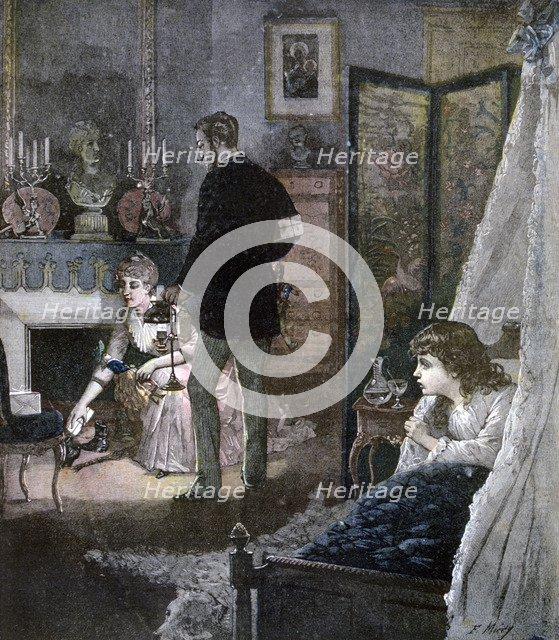 'Christmas Shoes', 1891. Artist: Miery