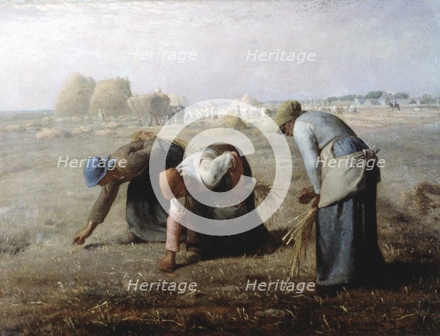 'The Gleaners', 1857. Artist: Jean Francois Millet