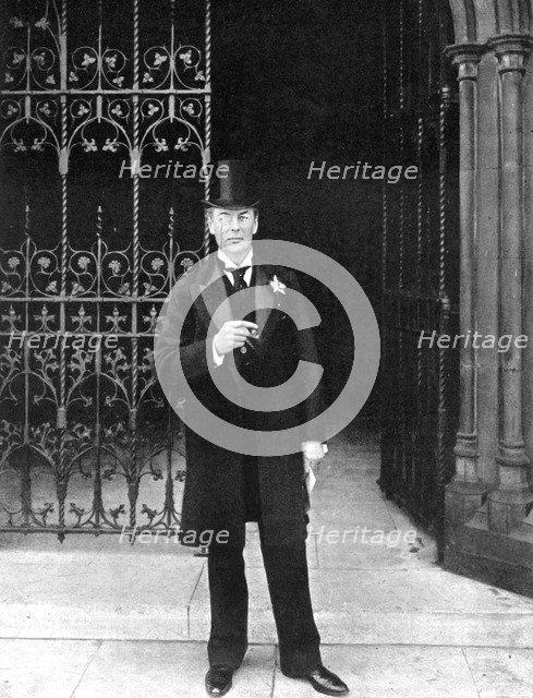 Joseph Chamberlain, British Liberal statesman, c1905.Artist: John Benjamin Stone