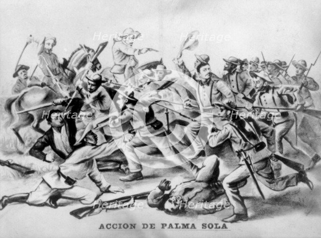 Single Action of  in las Palmas, (1875), 1920s. Artist: Unknown