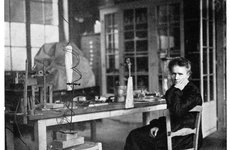 Thumbnail image of Marie Curie, Polish-born French physicist, c1920.  Artist: Anon