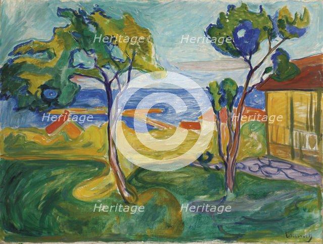 Hagen i Asgardstrand, 1904-1905. Artist: Munch, Edvard (1863-1944)