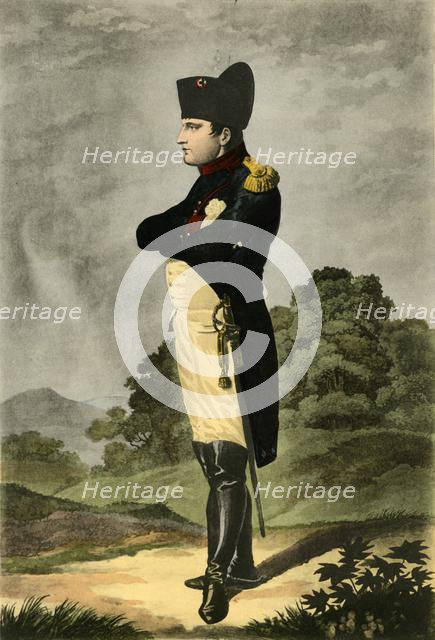 Napoleon, Emperor of the French and King of Italy, 1806, (1921).  Creator: Johann-Friedrich Arnold.