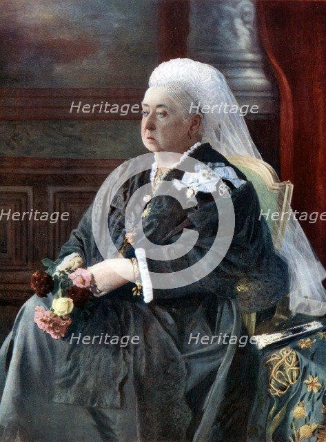 Queen Victoria, late 19th century, (20th century). Creator: Hughes & Mullins.