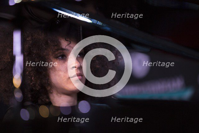 Kandace Springs, 2017. Artist: Alan John Ainsworth.
