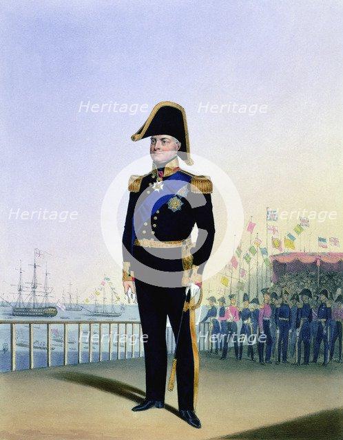 William IV, King of the United Kingdom, c1830-1837. Artist: L Mansion