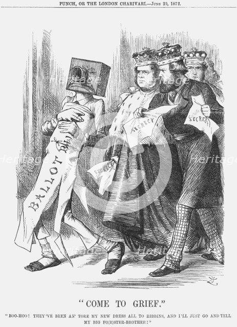 Come to Grief, 1872. Artist: Joseph Swain