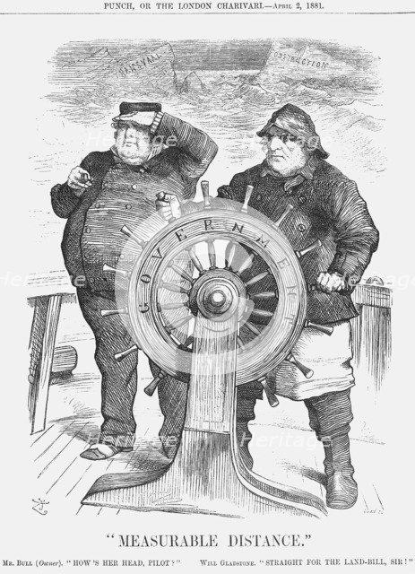 Measurable Distance, 1881. Artist: Joseph Swain