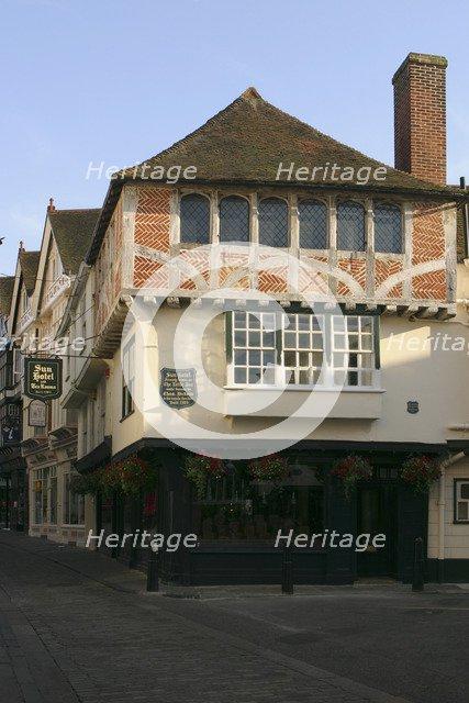 The Sun Hotel. built in 1503, Canterbury, Kent.