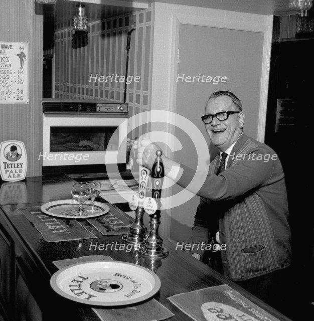 Pub landlord, Mexborough, South Yorkshire, 1968. Artist: Michael Walters