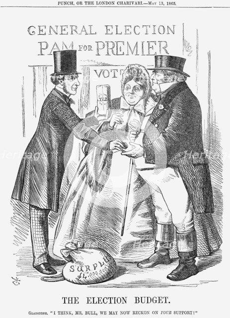 'The Election Budget', 1865. Artist: John Tenniel