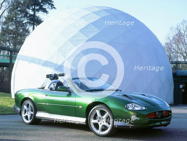 2002 Jaguar XKR Die Another Day James Bond car. Artist: Unknown.