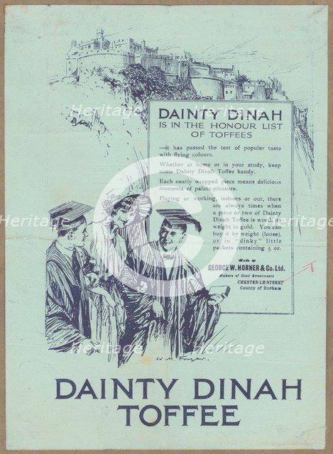 Dainty Dinah Toffee, c.1920. Artist: Wilfred Fryer