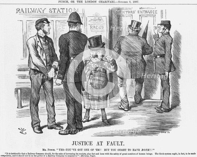 'Justice at Fault', 1887. Artist: Joseph Swain
