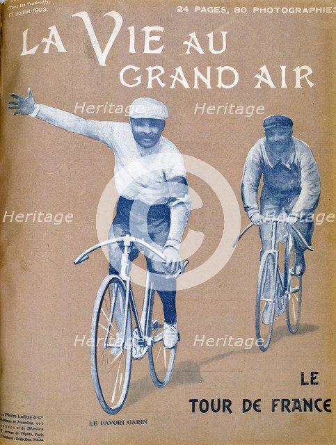 Tour de France, 17 July 1903. Artist: Unknown
