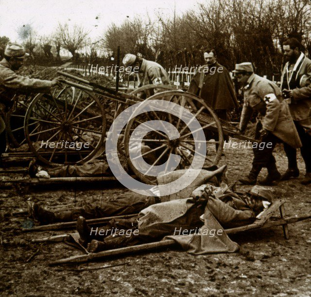 Bodies, Villers-au-Bois, northern France, c1914-c1918. Artist: Unknown.