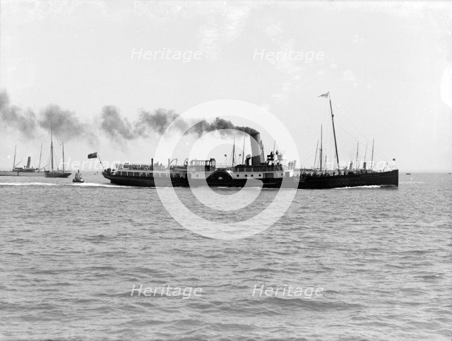 'PS Princess Mary', July 1911.  Creator: Kirk & Sons of Cowes.