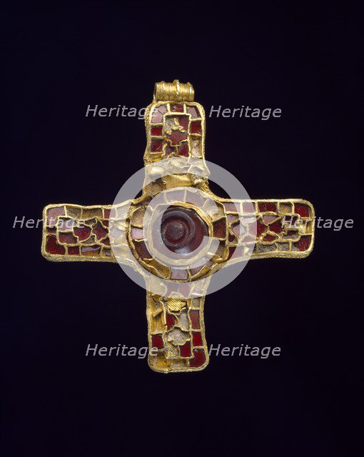 Cross (Holderness Cross), 7th century. Artist: Unknown.