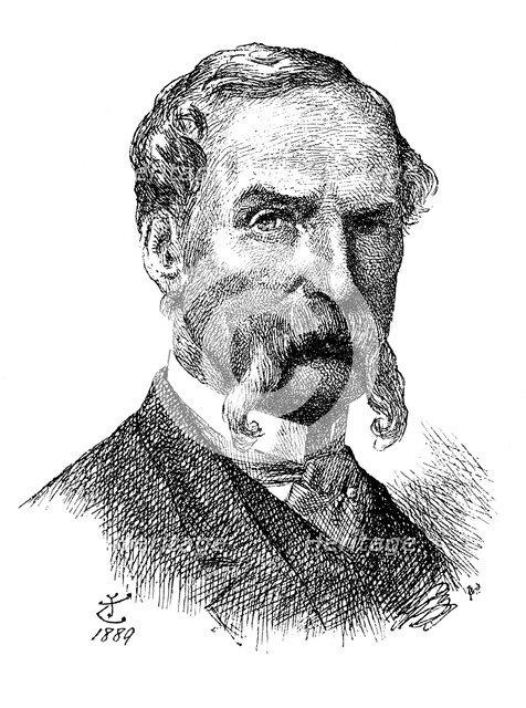 Sir John Tenniel, British artist and cartoonist, 1889 (1895). Artist: Unknown