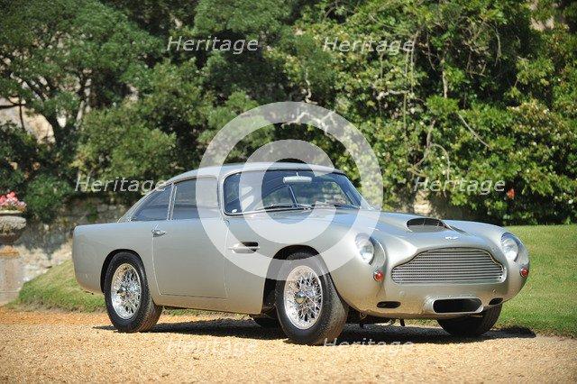 1961 Aston Martin DB4 GT Artist: Unknown.