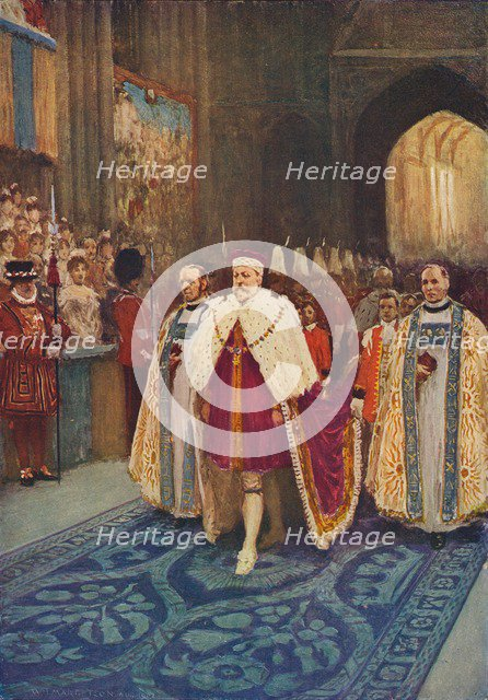 The Coronation of King Edward VII and Queen Alexandra, 1902 (1906). Artist: Unknown.
