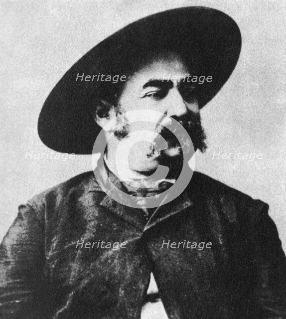 John X Beidler, leader of the Montana Vigilantes, c1860s (1954). Artist: Unknown