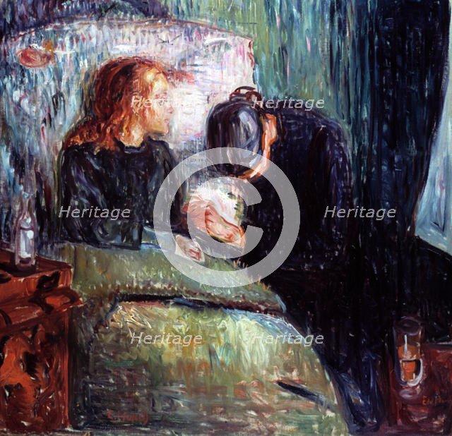 'The Sick Child', 1907. Artist: Edvard Munch