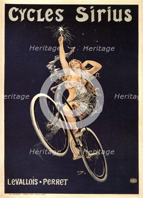 Cycles Sirius, 1899. Artist: Gray (Boulanger), Henri (1858-1924)