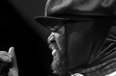 Thumbnail image of Gregory Porter, 2013. Artist: Alan John Ainsworth.