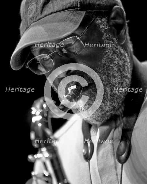 Ernie Watts, c2010. Artist: Alan John Ainsworth.