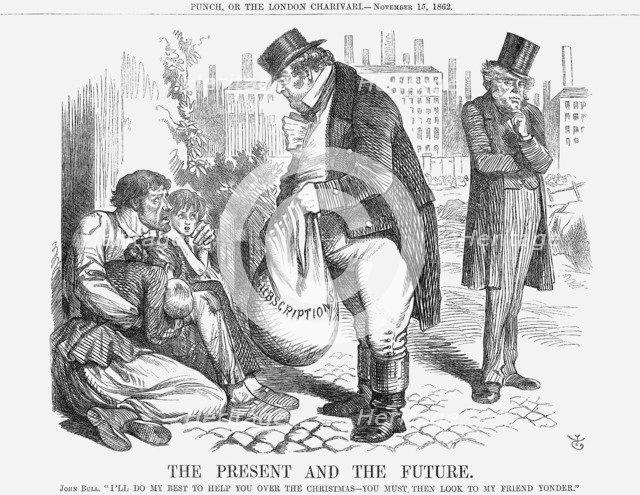'The Present and The Future', 1862. Artist: John Tenniel