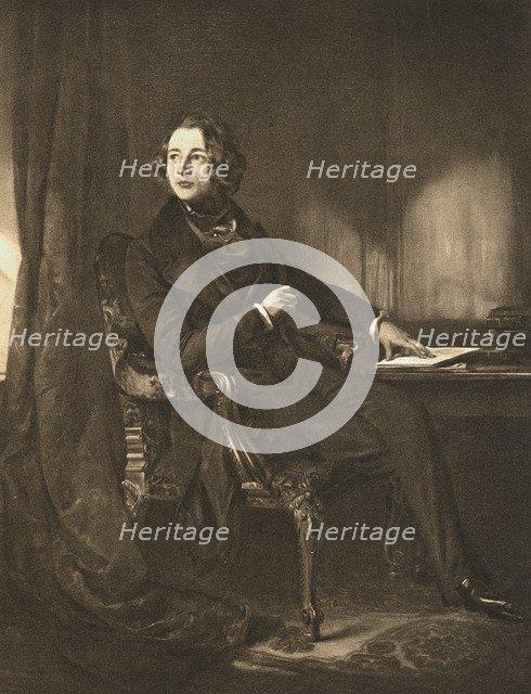 Charles Dickens, English novelist and journalist, c1836. Artist: Unknown