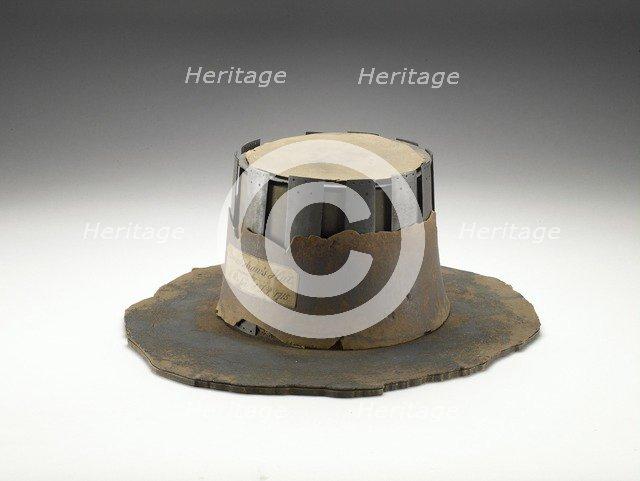 Bradshaw's hat, 17th century. Artist: Unknown.