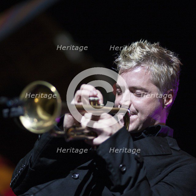 Chris Botti, 2009. Artist: Alan John Ainsworth.