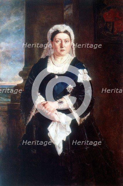 Queen Victoria, c1880. Artist: Unknown